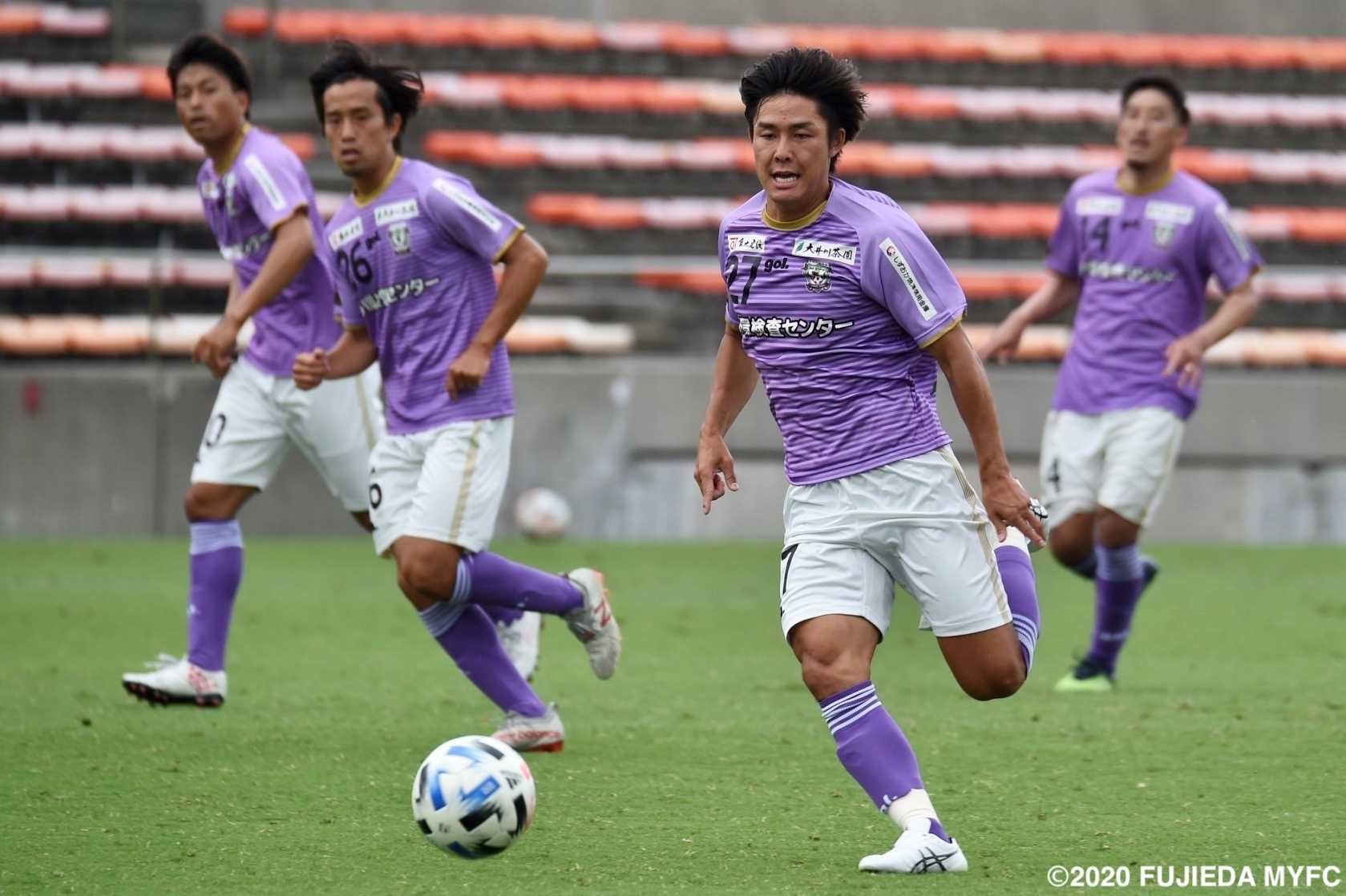 J3 藤枝MYFCの試合日程が決定