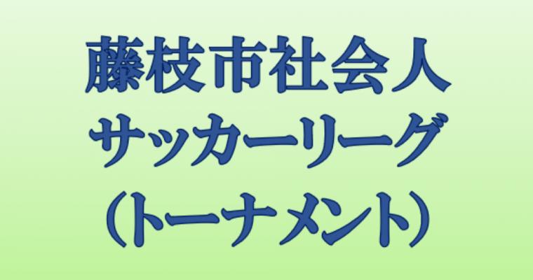 藤枝市社会人リーグ(トーナメント)大会結果